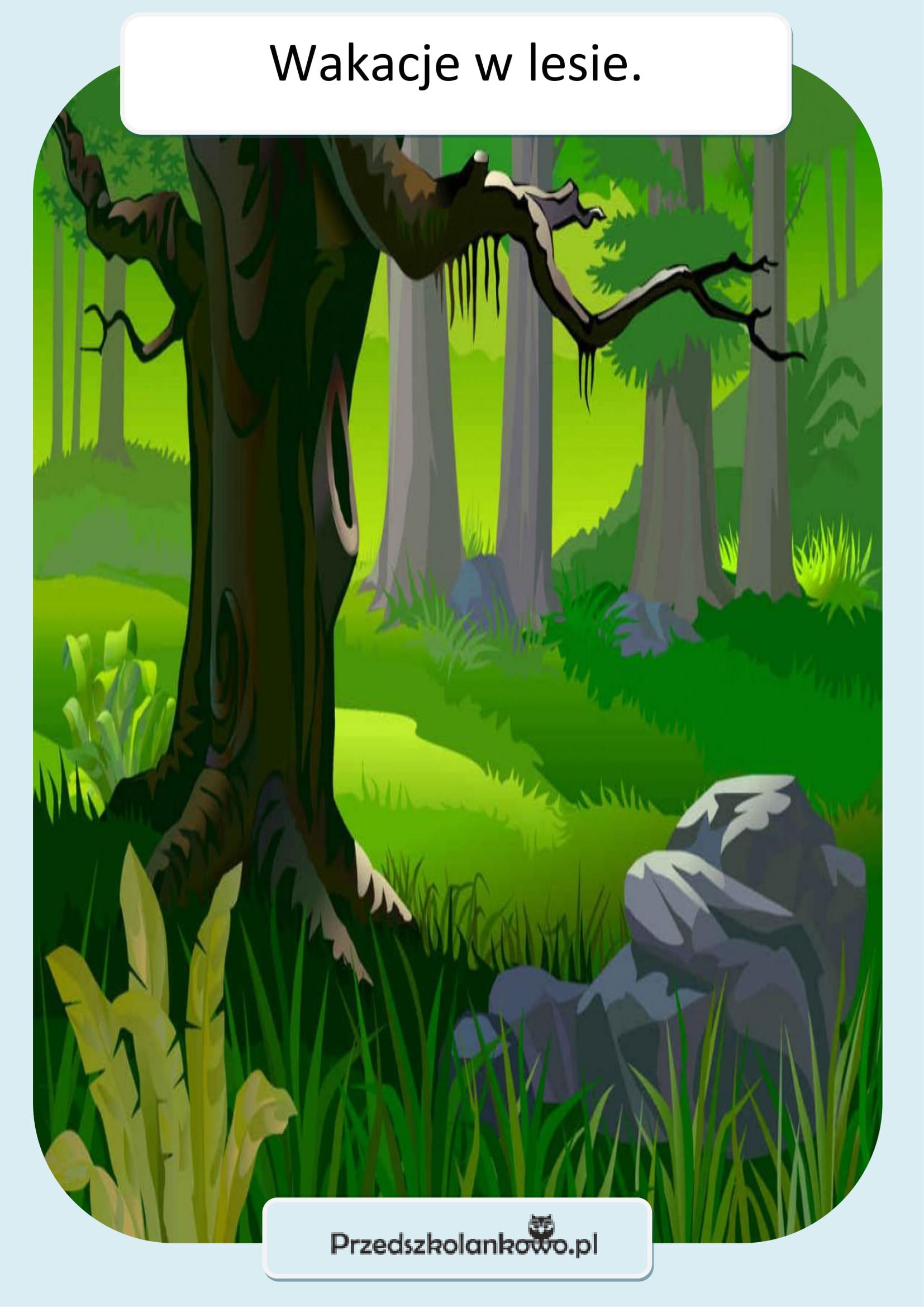 PLANSZA-wakacje-w-lesie.-1